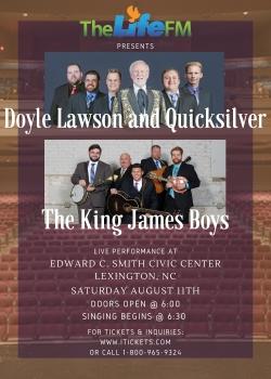 The LifeFM Presents: Doyle Lawson and Quicksilver